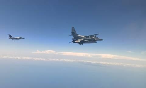 Πολεμική Αεροπορία: Είδαν «φαντάσματα» οι Τούρκοι! Στη Μαύρη Θάλασσα ελληνικά F-16