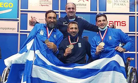 Ξιφασκία με αμαξίδιο: Σπουδαία επιτυχία! Δεύτερο μετάλλιο σε Παγκόσμιο Πρωτάθλημα