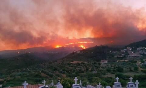 Φωτιά στην Κεφαλονιά: Κάηκαν περίπου 6.000 στρέμματα - Υπόνοιες για εμπρησμό αφήνει πρώην Νομάρχης