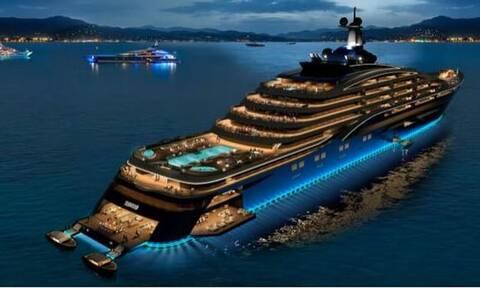 Το μεγαλύτερο γιοτ στον κόσμο: Πλωτό παλάτι για εκατομμυριούχους με ανέσεις επτάστερου ξενοδοχείου