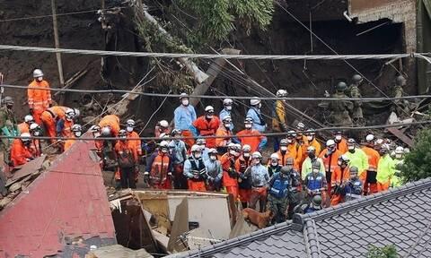 Ιαπωνία: 7 νεκροί και 27 αγνοούμενοι στο Ατάμι - Εξανεμίζονται οι ελπίδες να βρεθούν επιζώντες