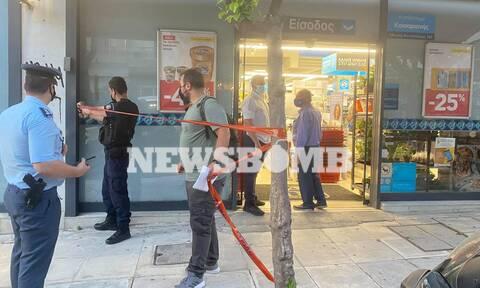 Ένοπλη ληστεία σε σούπερ μάρκετ στην Καισαριανή -Τραυματίας πολίτης από πυροβολισμό