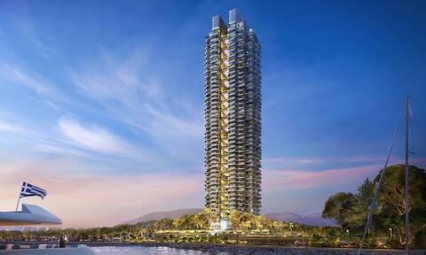 Lamda Development- Ελληνικό: Παρουσίαση του Marina Tower, του πρώτου πράσινου ουρανοξύστη στη χώρα