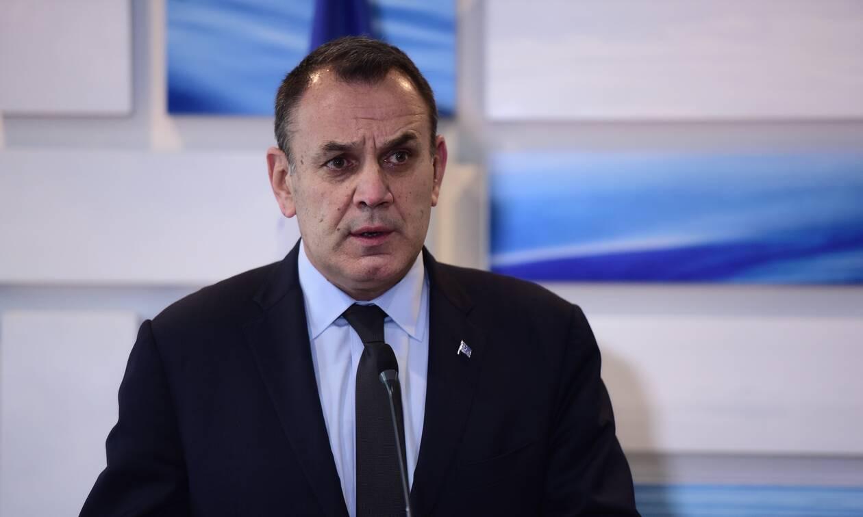Παναγιωτόπουλος: Αντιμετώπιση απειλών, εξοπλιστική ενίσχυση, στήριξη της Πολιτείας