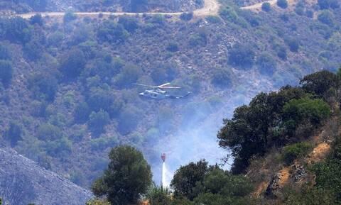 Κύπρος: Υπό μερικό έλεγχο η φωτιά στη Λεμεσό