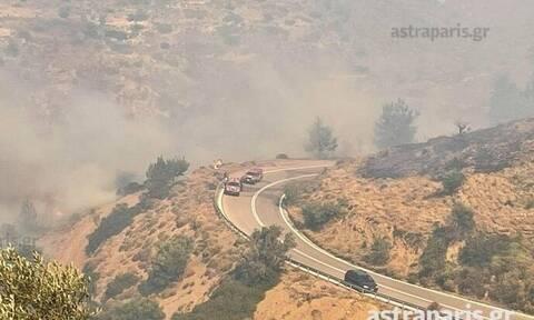Φωτιά στη Χίο: «Εκκενώθηκαν προληπτικά τρία χωριά, αισιοδοξούμε», λέει ο Δήμαρχος στο Newsbomb.gr