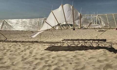 Σε μουσείο στην Ιαπωνία τα «Θηρία της Άμμου» του Theo Jansen (video)
