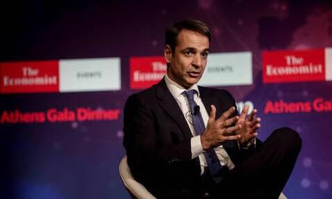 Μητσοτάκης: LIVE η ομιλία του Πρωθυπουργού στο συνέδριο του «The Economist»