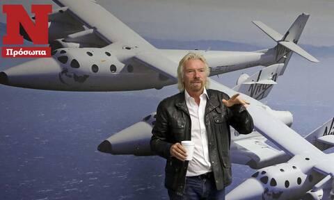 Ρίτσαρντ Μπράνσον: O εκκεντρικός«Μr Virgin» βάζει πλώρη για το διάστημα – Ο «τυχοδιώκτης» των ρεκόρ