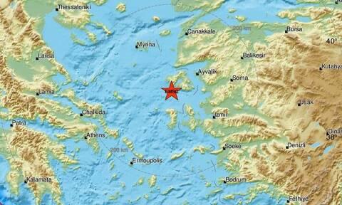 Χάρτης σεισμού