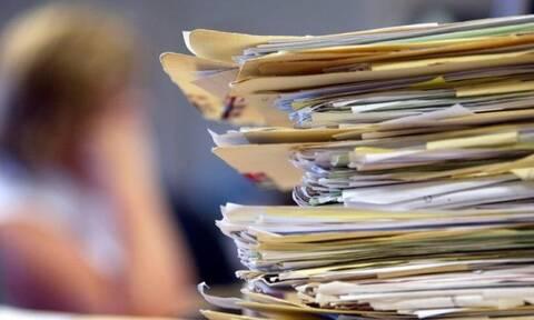 Μειώνεται η γραφειοκρατία: Το σχέδιο για λιγότερα δικαιολογητικά στο Δημόσιο