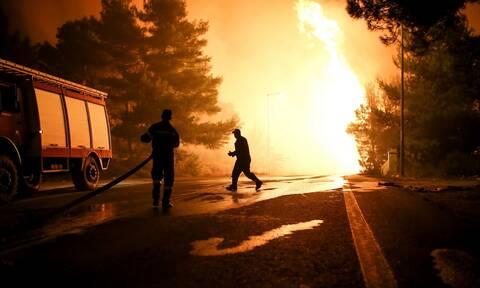 Φωτιά ΤΩΡΑ στον Έβρο: Δύσκολη η νύχτα για τις πυροσβεστικές δυνάμεις
