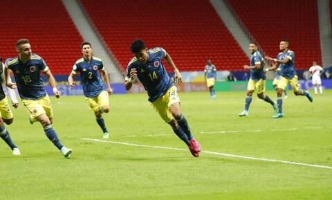Copa America: Στην τρίτη θέση η Κολομβία μετά από τρομερό ματς με το Περού