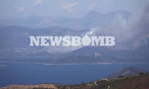 Φωτιά Εύβοια – Δήμαρχος Καρύστου στο Newsbomb.gr: Ανεξέλεγκτη η πυρκαγιά – Πολύ δύσκολη η κατάσταση