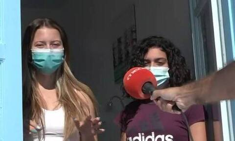 Ίος - Κορονοϊός: Κύπριες συμμαθήτριες που ήταν στα πάρτι και κόλλησαν μιλούν από το... παράθυρο