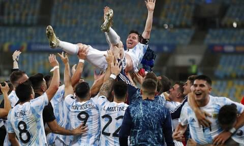 Copa America 2021: Αργεντινή - Βραζιλία 1-0… και ο Μέσι πήρε το πρώτο του τρόπαιο μέσα στο Μαρακανά