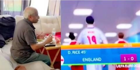 Viral ο παππούς που έβλεπε αγώνα στο FIFA και νόμιζε πως ήταν το Αγγλία-Δανία