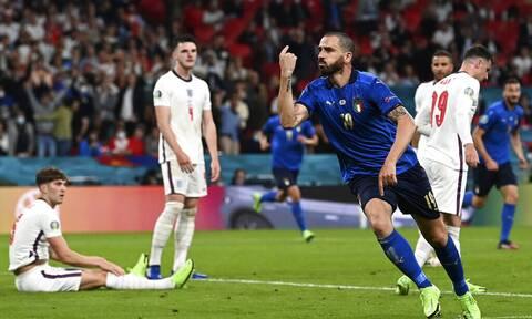 Euro 2020: Ο Μπονούτσι ισοφάρισε και «ξέσπασε» στην κερκίδα της Ιταλίας