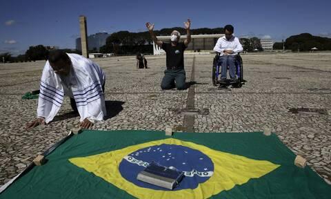 Κορονοϊός στη Βραζιλία: 595 θάνατοι και 20.937 κρούσματα σε 24 ώρες