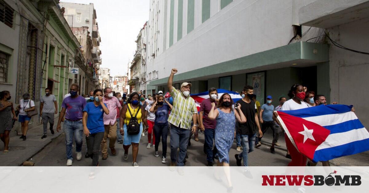 facebookcuba protests