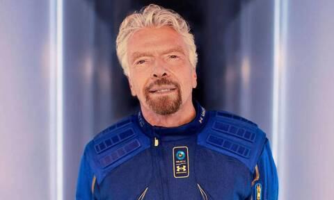 Richard Branson: Τελικά «πάτησε» στο διάστημα ή μήπως όχι;