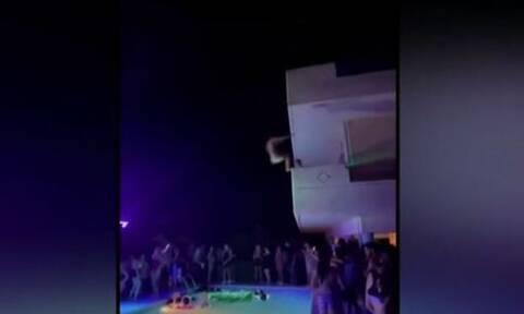 Χαλκίδα: Πάρτι-πρόκληση σε βίλα με DJ, βουτιές από μπαλκόνια και… Champions League