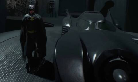 Batman: O μυθικός Μάικλ Κίτον ξανά με τη στολή του!