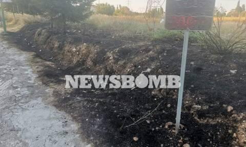 Φωτιά και στο Μενίδι - Κινητοποιήθηκαν δυνάμεις της Πυροσβεστικής
