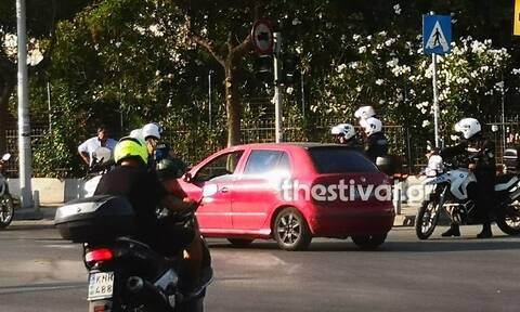 Θεσσαλονίκη: Επεισόδιο μετά από τροχαίο – Tραυματίστηκε αστυνομικός που προσπάθησε να τους χωρίσει