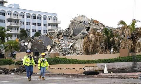 Κατάρρευση πολυκατοικίας στη Φλόριντα: Ο επιβεβαιωμένος αριθμός των νεκρών ανήλθε σε 94