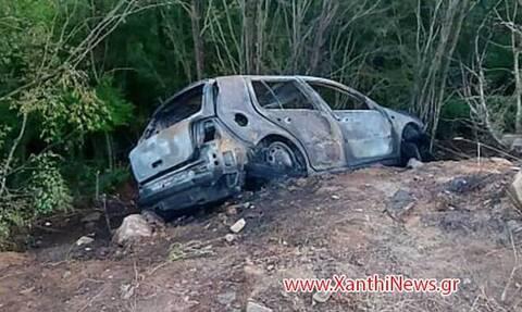 Ξάνθη: Νεκρός 30χρονος - Απανθρακώθηκε μέσα στο αυτοκίνητό του μετά από τροχαίο