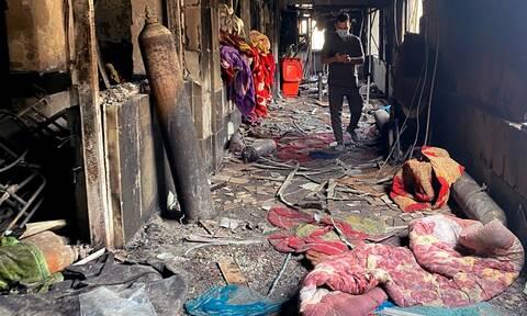 Τραγωδία στο Ιράκ: Τουλάχιστον 36 νεκροί από πυρκαγιά σε κλινική Covid-19
