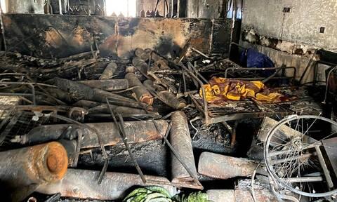Ιράκ: Τουλάχιστον 52 νεκροί από πυρκαγιά σε κλινική Covid-19 σε νοσοκομείο
