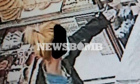 Βίντεο-ντοκουμέντο από τους «Μπόνι και Κλάιντ» του Μενιδίου – Συνελήφθη ξανθιά «λησταρχίνα»