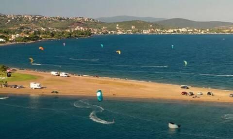 Λαμία - Παραλία Φάρος: «Η αμμόγλωσσα της αδρεναλίνης» - Ένα τοπίο εκπληκτικής ομορφιάς