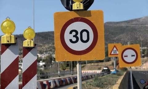 Χανιά: Κλείνει σήμερα (14/7) τμήμα του Βόρειου Οδικού Άξονα Κρήτης