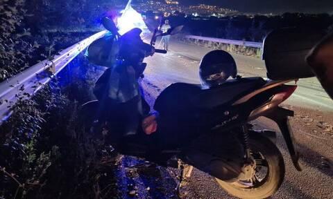 Λαμία: Αγριογούρουνο έπεσε πάνω σε μηχανάκι - Τραυματίστηκε ο δικυκλιστής
