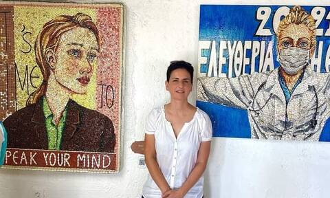 Ελένη Ιωαννίδου: Η λοιμωξιολόγος που κάνει έργα τέχνης με… ληγμένα χάπια στο Newsbomb.gr