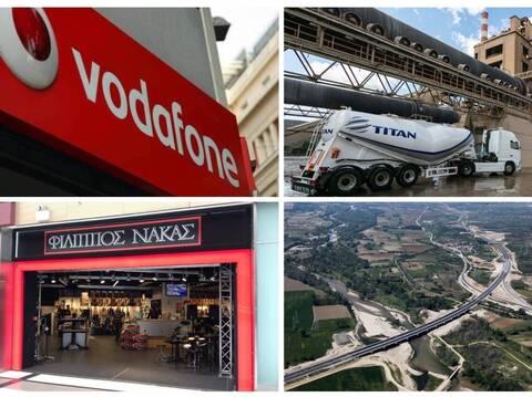 H Πειραιώς πάει Ελληνικό, πως η Vodafone Ελλάς αποκάλυψε τον «The Bull» και ο Νάκας και τα αρώματα