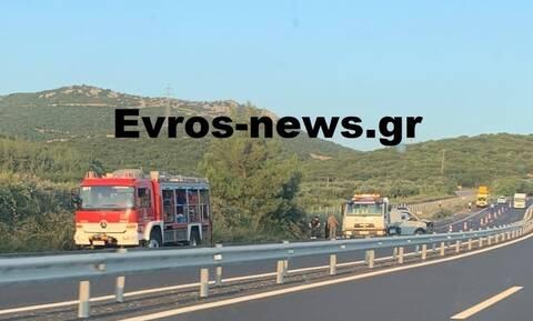 Σοβαρό τροχαίο ατύχημα στην Εγνατία οδό: Τραυματίστηκε ζευγάρι – Κρίσιμη η κατάστασή του