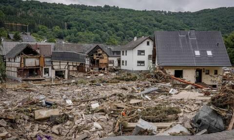 Τραγωδία δίχως τέλος στη Γερμανία - 42 οι νεκροί από τις πλημμύρες, δεκάδες οι αγνοούμενοι