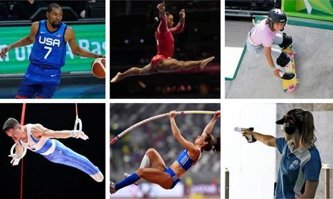 Ολυμπιακοί Αγώνες Τόκιο 2020: Οι 10+5 αθλητές που πρέπει να προσέξετε
