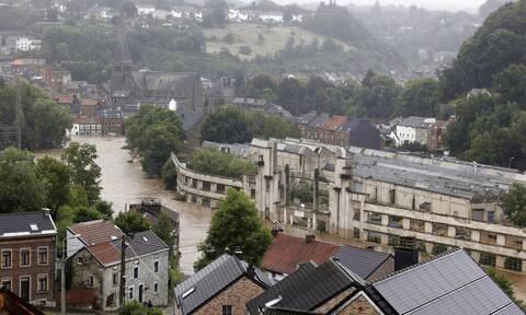 Συναγερμός στο Βέλγιο: Έξι νεκροί από τις πλημμύρες - Ζητούν εκκένωση συνοικιών της Λιέγης