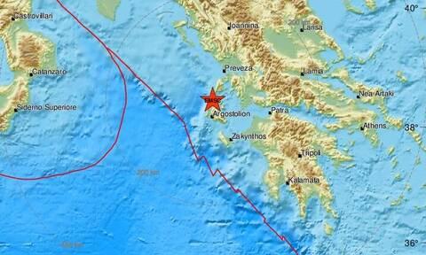 Σεισμός ΤΩΡΑ σε Κεφαλονιά και Ιθάκη (pics)