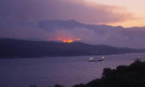 Ρεπορτάζ Newsbomb.gr - Φωτιά Σάμος: Για εμπρησμό κάνει λόγο ο Δήμαρχος - Καλύτερη η εικόνα