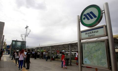 Συναγερμός στο Αιγάλεω: Τηλεφώνημα για βόμβα στον σταθμό του Μετρό