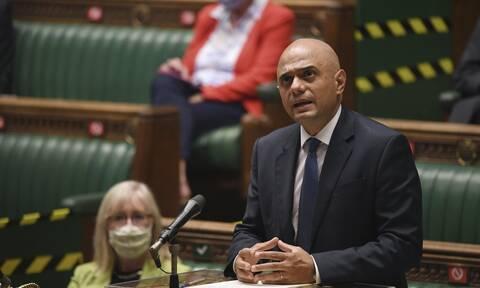 Βρετανία: Ο υπουργός Υγείας Σατζίντ Τζάβιντ βρέθηκε θετικός στον κορονοϊό