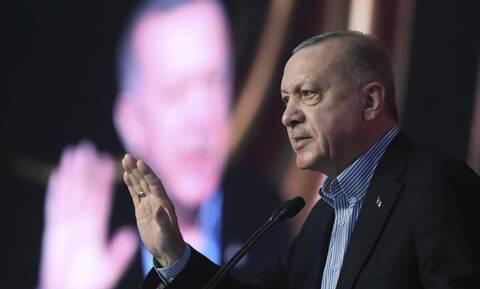 Στα Κατεχόμενα ο Ερντογάν για την επέτειο της εισβολής με «χαρμόσυνα νέα» για κοιτάσματα και drones