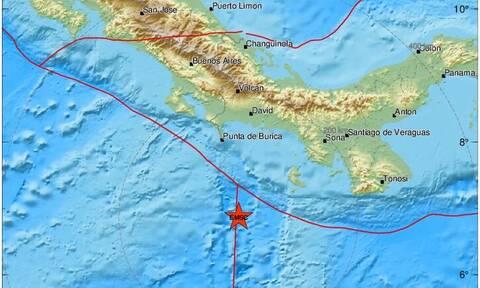 Ισχυρή σεισμική δόνηση 6,2 βαθμών νότια του Παναμά
