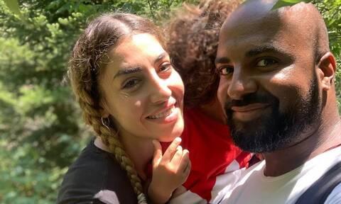 Ησαΐας Ματιάμπα: Ξέγνοιαστες στιγμές με τον γιο του